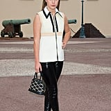 Adèle Exarchopoulos Carrying Louis Vuitton