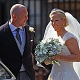 Zara Phillips and Mike Tindall, 2011
