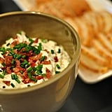 Bacon, Leek, Onion, and Goat Cheese Dip