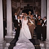 Queen Sofia of Spain Wedding Pictures