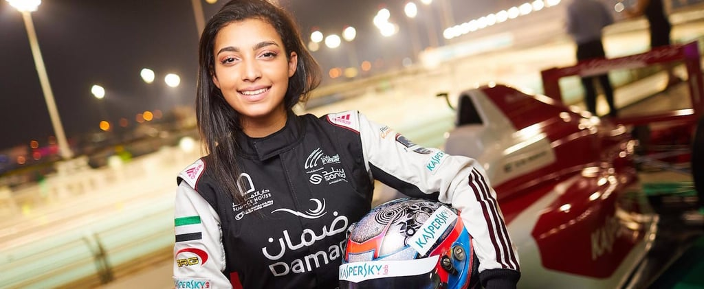 This Emirati Race Car Driver, 17, Is Taking Arab Women Where They've Never Been Before