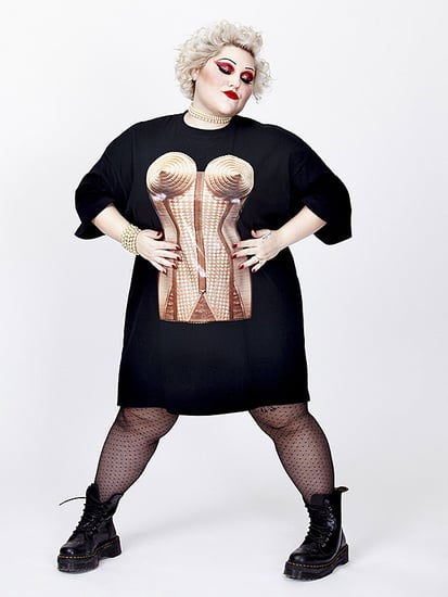 Beth Ditto Teams Up with Jean-Paul Gaultier for a Groundbreaking Plus-Size Collaboration