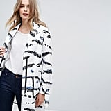 French Connection Tapir Wave Coat