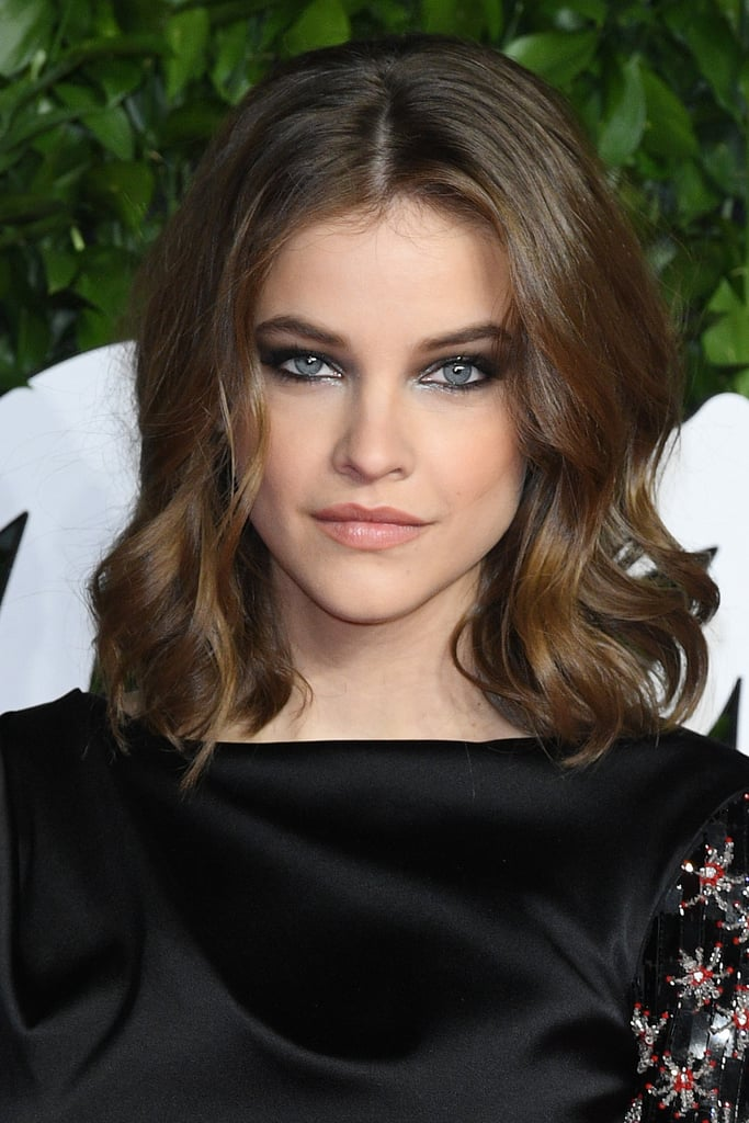 Barbara Palvin's Onxy Smoky Eyes