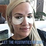 Carrie Underwood's Under-Eye Masks