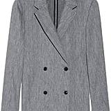 T by Alexander Wang Gray Herringbone Linen Blazer ($209, originally $465)