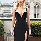 Jennifer Lawrence's Black Versace Dress