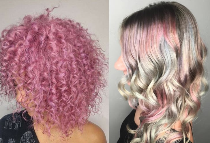 Pastel Hair Color Ideas Popsugar Beauty
