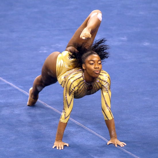 Watch Chae Campbell's 2021 Gymnastics Floor Routine | Video