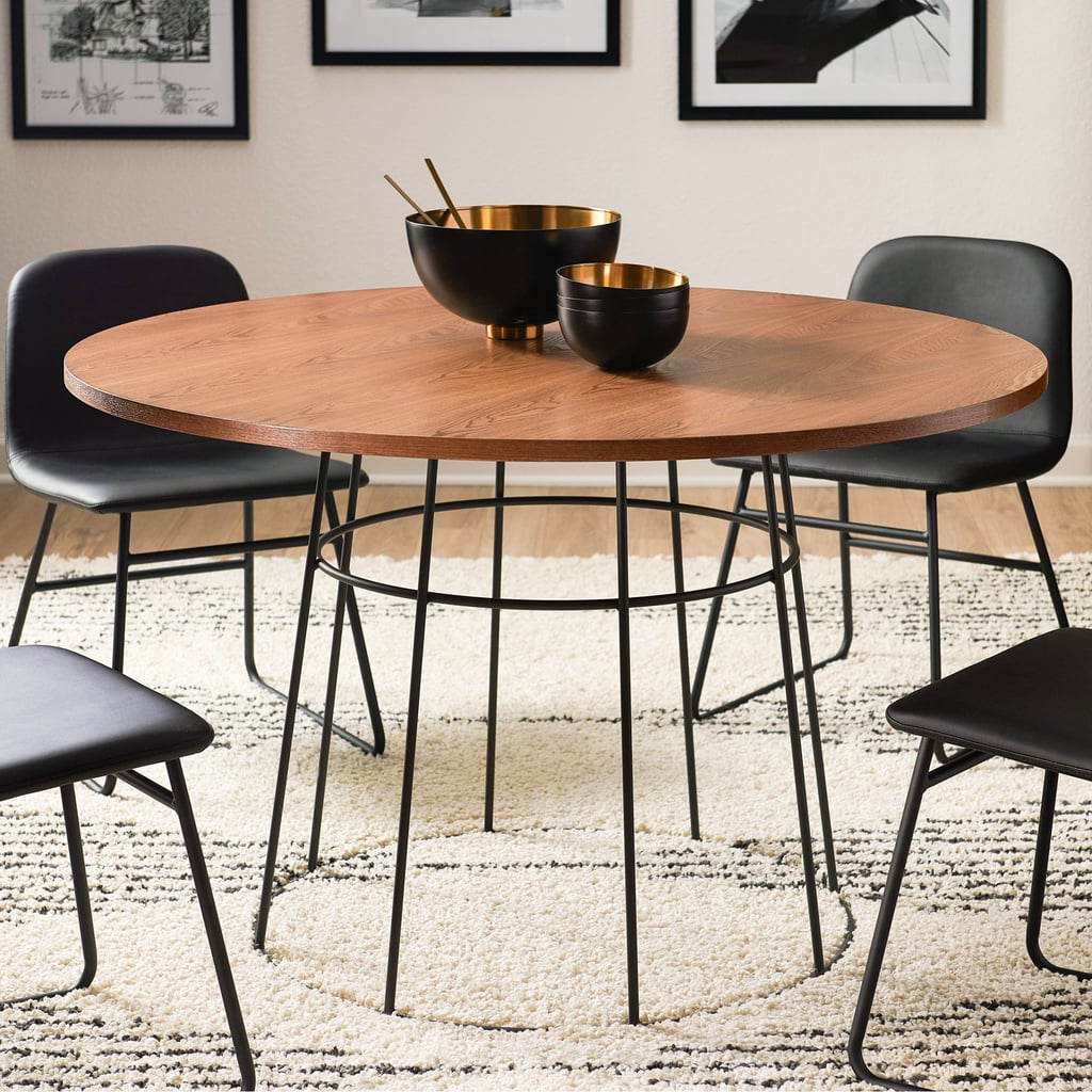 MoDRN Industrial Griffin Round Dining Table