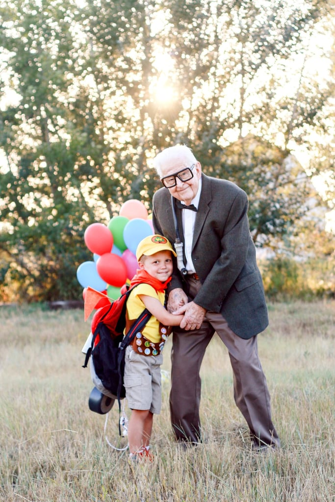 A Little Boy and His Grandpa Did an Up-Inspired Photo Shoot