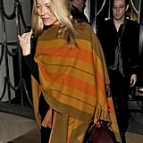 Kate Moss leaving Claridge's hotel with husband Jamie Hince.