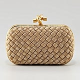Bottega Veneta's matte gold knot clutch ($2,750) is a classic piece that you'll be able to wear to special occasions for years to come, so it's worth every dime.