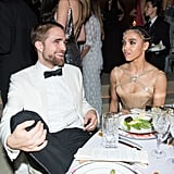 Pictured: Robert Pattinson and Fka Twigs