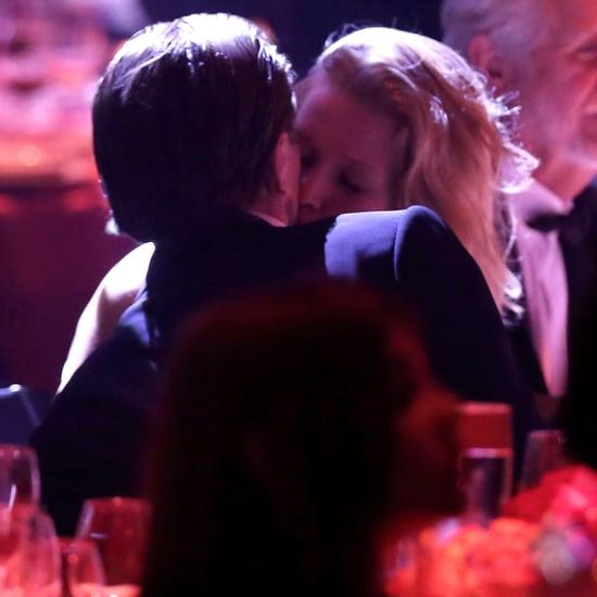 Leonardo DiCaprio and Toni Garrn Kissing at amfAR Gala