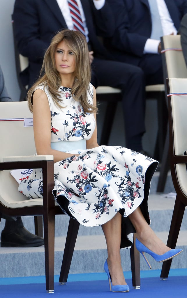 Designers on Dressing Melania Trump