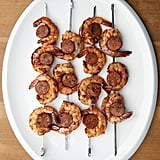 Spicy Shrimp and Chorizo Kebabs