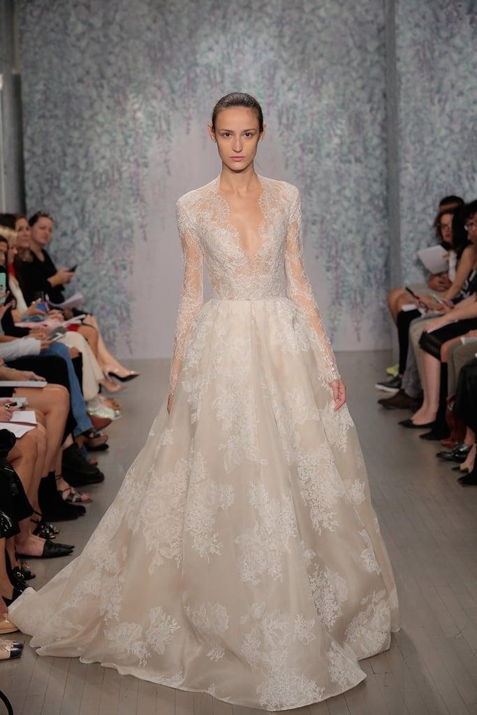 Princess dresses at bridal fashion week autumn winter 2016 for Monique lhuillier brooke wedding dress