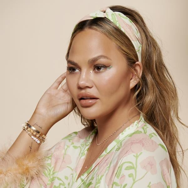 Chrissy Teigen Launched a Collection of Hair Accessories