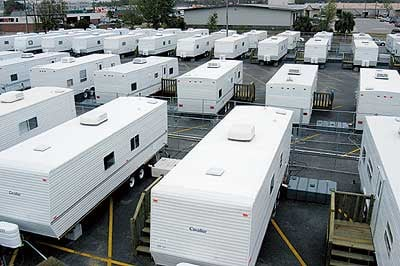 FEMA Seeks Immunity From Suits Over Trailer Fumes