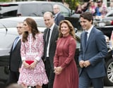 Sophie Trudeau Stands by Kate Middleton, but Her Style's Way More Daring