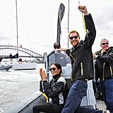 Day 6: On Sydney harbour during day two of the Invictus Games Sydney