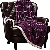 Chanasya Warm Hugs Positive Energy Healing Thoughts Caring Throw Blanket