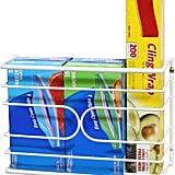 DecoBros Wall Mount Kitchen Wrap Organizer Rack