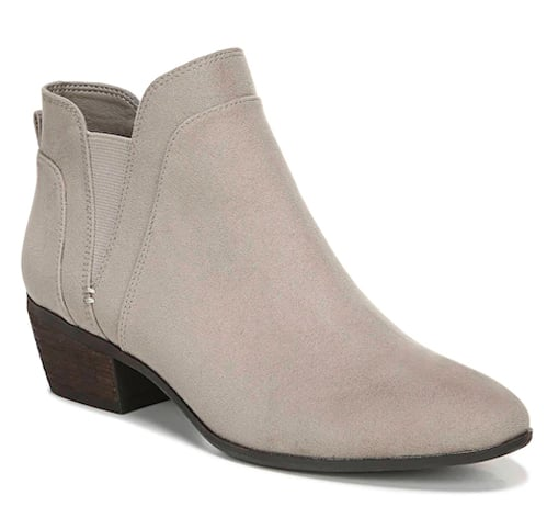 Pent Ankle Boots in Putty