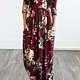 MITILLY Floral Print Dress