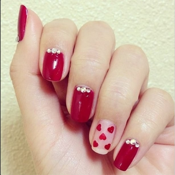 39 Crush Worthy Valentines Day Nail Art Ideas Popsugar Beauty Uk