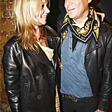 Kate Moss and husband Jamie Hince posed together at the photography exhibition for The Kills.