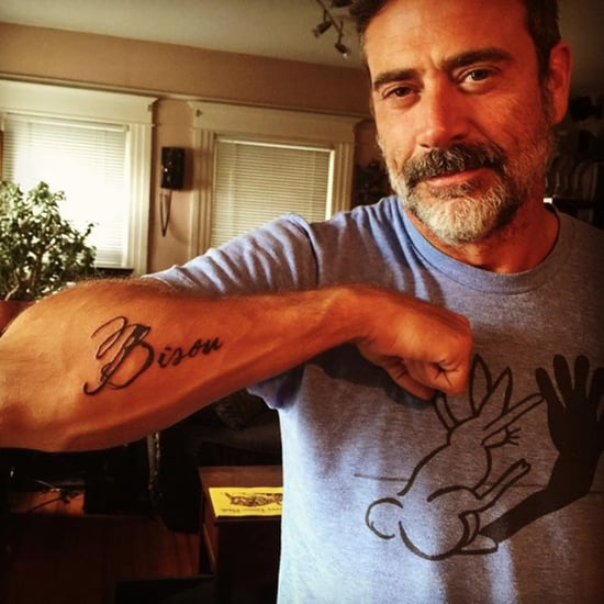 How did jeffrey dean morgan and hilarie burton meet for Dean and sams tattoo