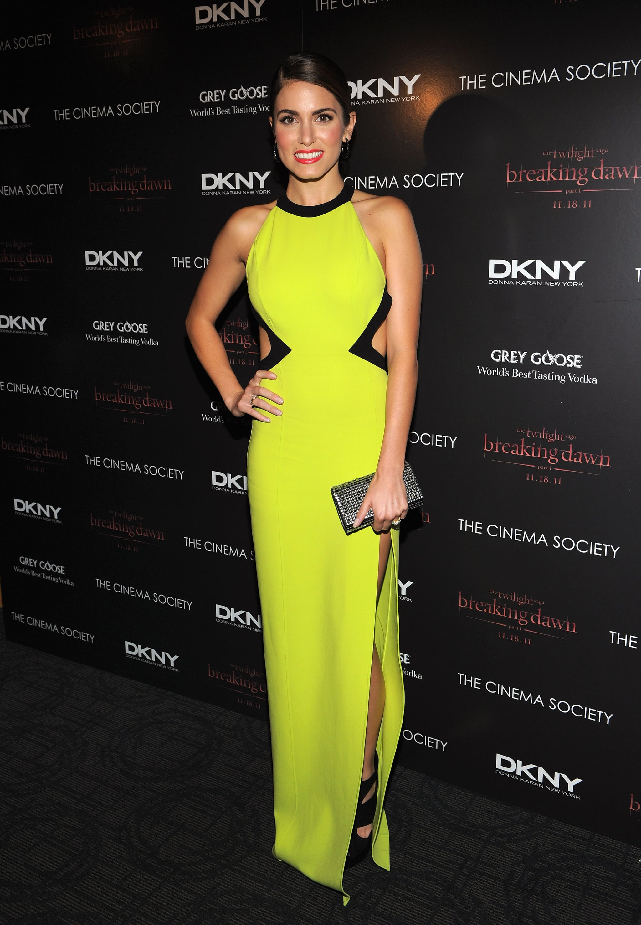 Nikki Reed in rocked the neon trend.