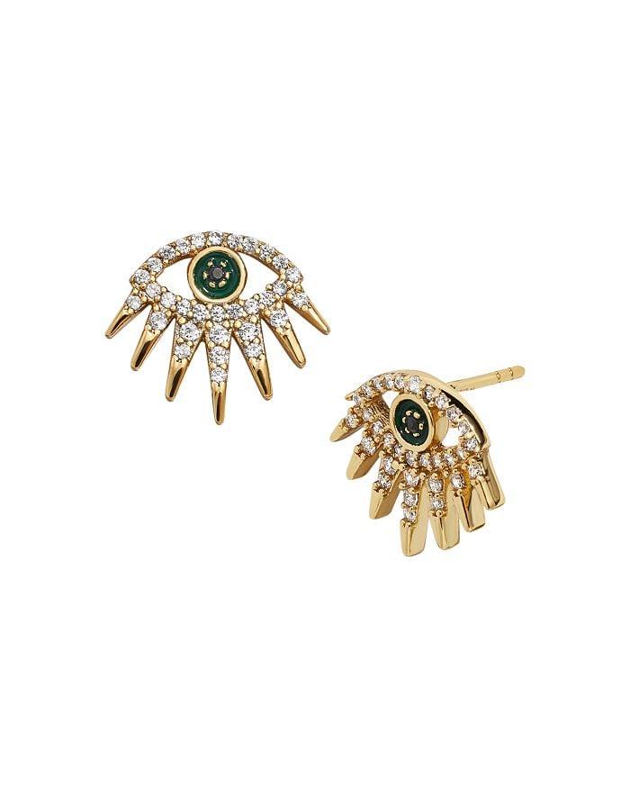Baublebar Tali Pavé Eye Stud Earrings