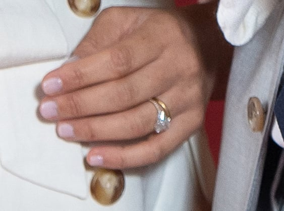 Meghan's Rings at Archie's Photocall