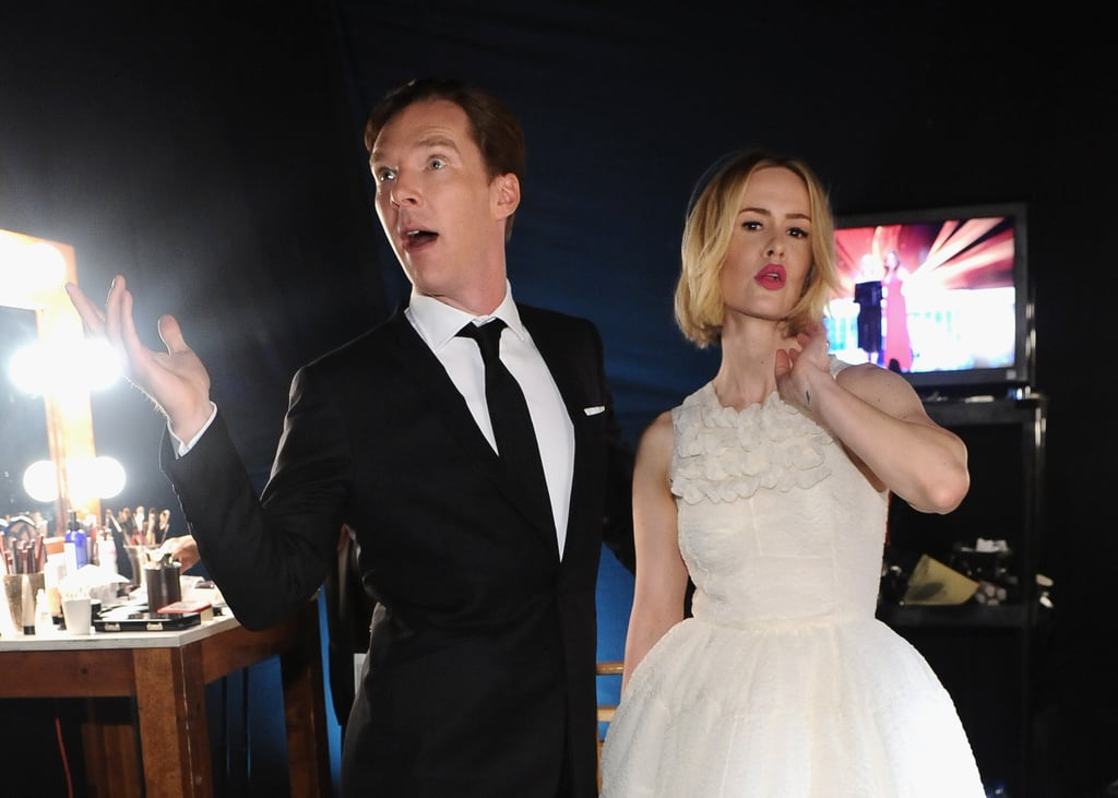 Benedict Cumberbatch at the SAG Awards 2014