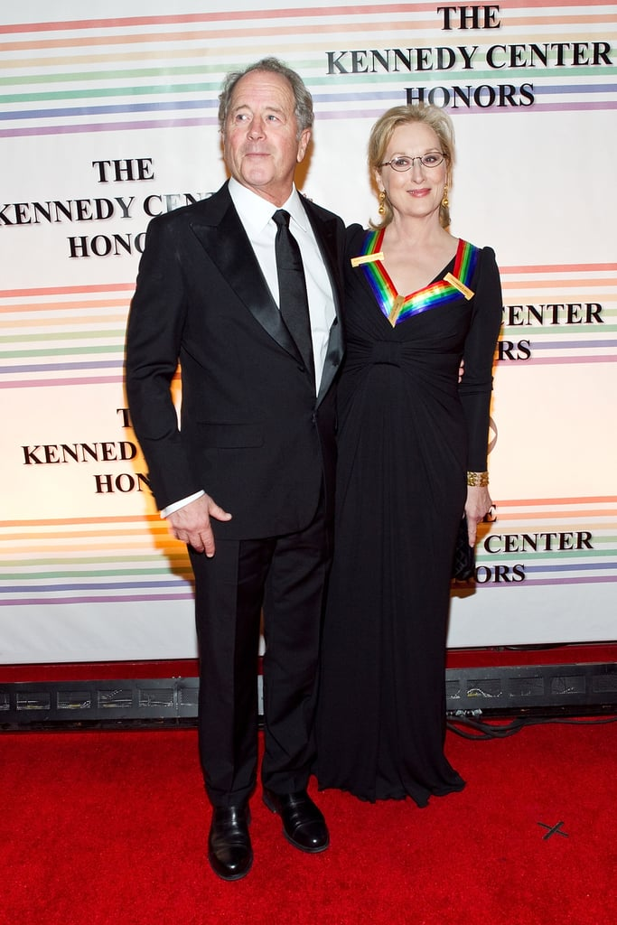 Don kept his arm around her at the Kennedy Center Honors in 2011, where Meryl was honored by President Obama.