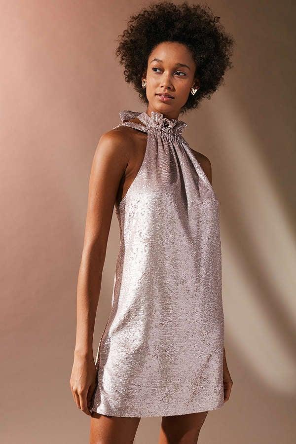 C/meo Collective Illuminated Sequin Minidress