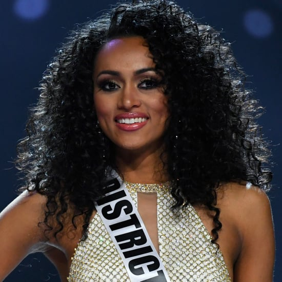 Miss USA Kara McCullough With Natural Hair