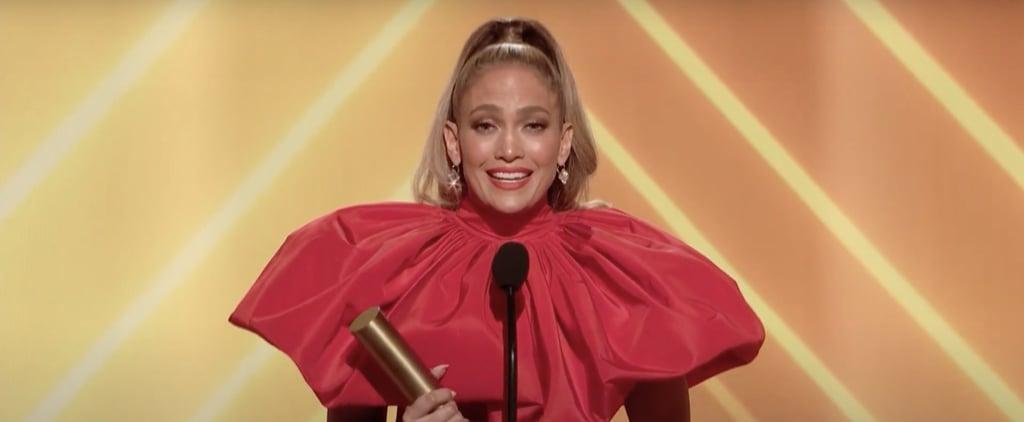 Jennifer Lopez's 2020 People's Choice Awards Speech | Video