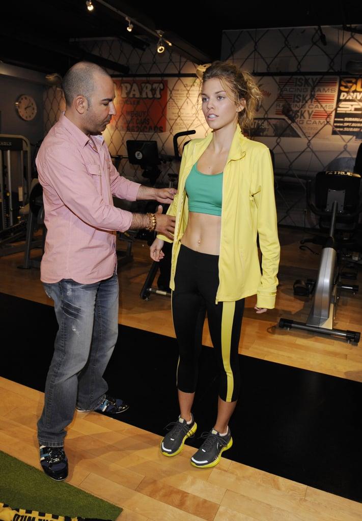 AnnaLynne McCord Boxing in LA