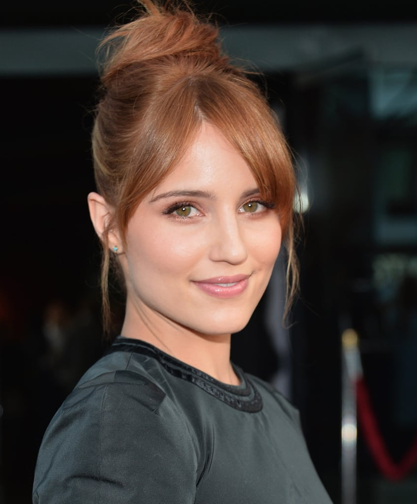 "Dianna Agron was also out at the premiere of The Bling Ring. ""She has such natural beauty, so I simply enhanced that beauty with a little warmth and a soft glow,"" said makeup artist Georgie Eisdell. Eisdell focused on Dianna's eyes with Nars Eyeshadow in Persia ($24) and Laura Mercier Baked Eye Color in Terracotta ($23). ""I mixed the two together to get a rusty orange tone, which I used in the crease of her eyes and outer corners, and lightly under her eyes on the outer corners, to create depth and a smoky effect."""
