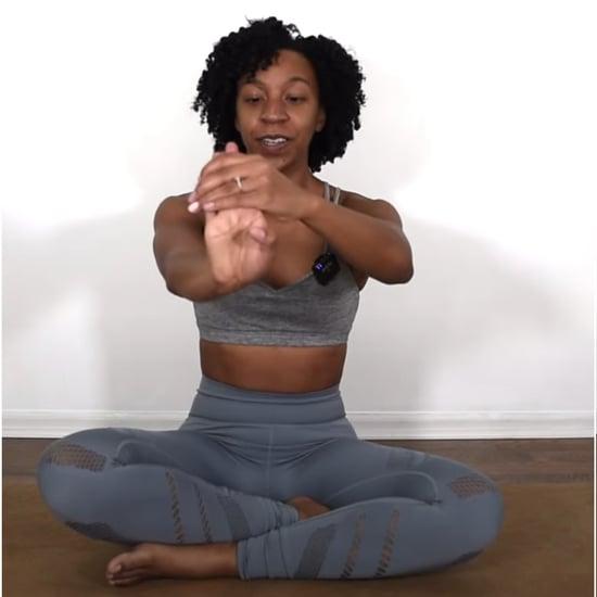Wrist Stretching Yoga Warmup From Arianna Elizabeth