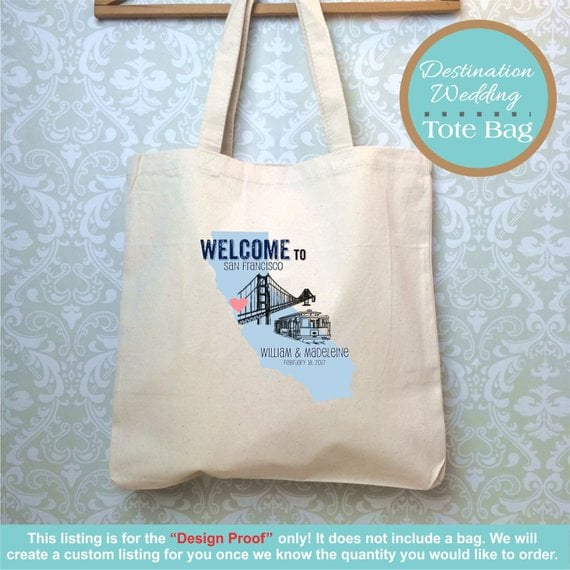 Destination Wedding Bag