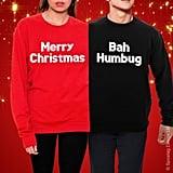 Merry Christmas Bah Humbug Jumper