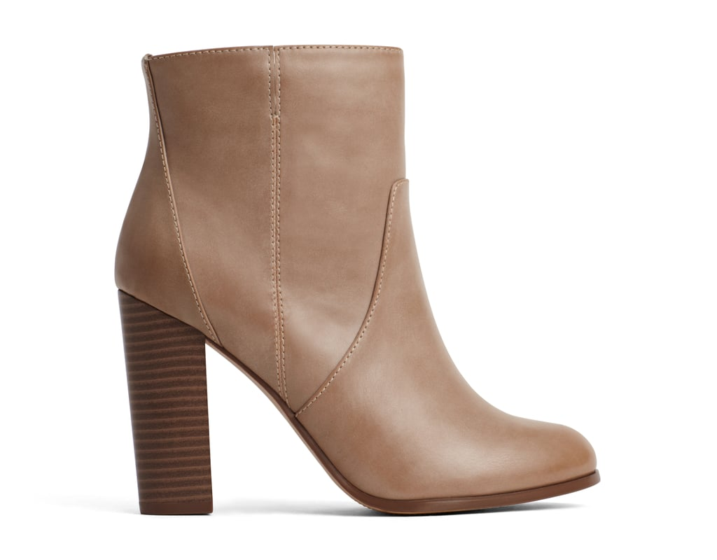 A+ Isa Taupe Boots ($45)