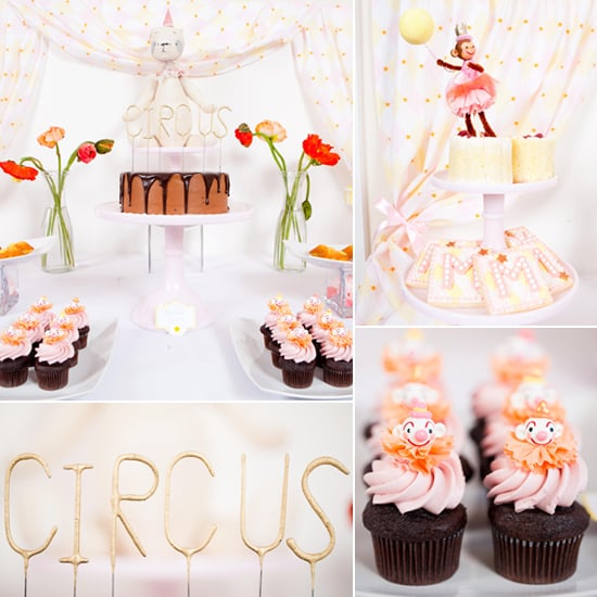 A Lovely, Whimsical Pink Circus Birthday Party