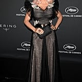 May at a Kering Dinner in Cannes, France