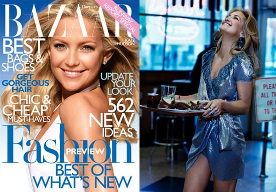 Photos of Kate Hudson in Harper's Bazaar With Ryder Robinson